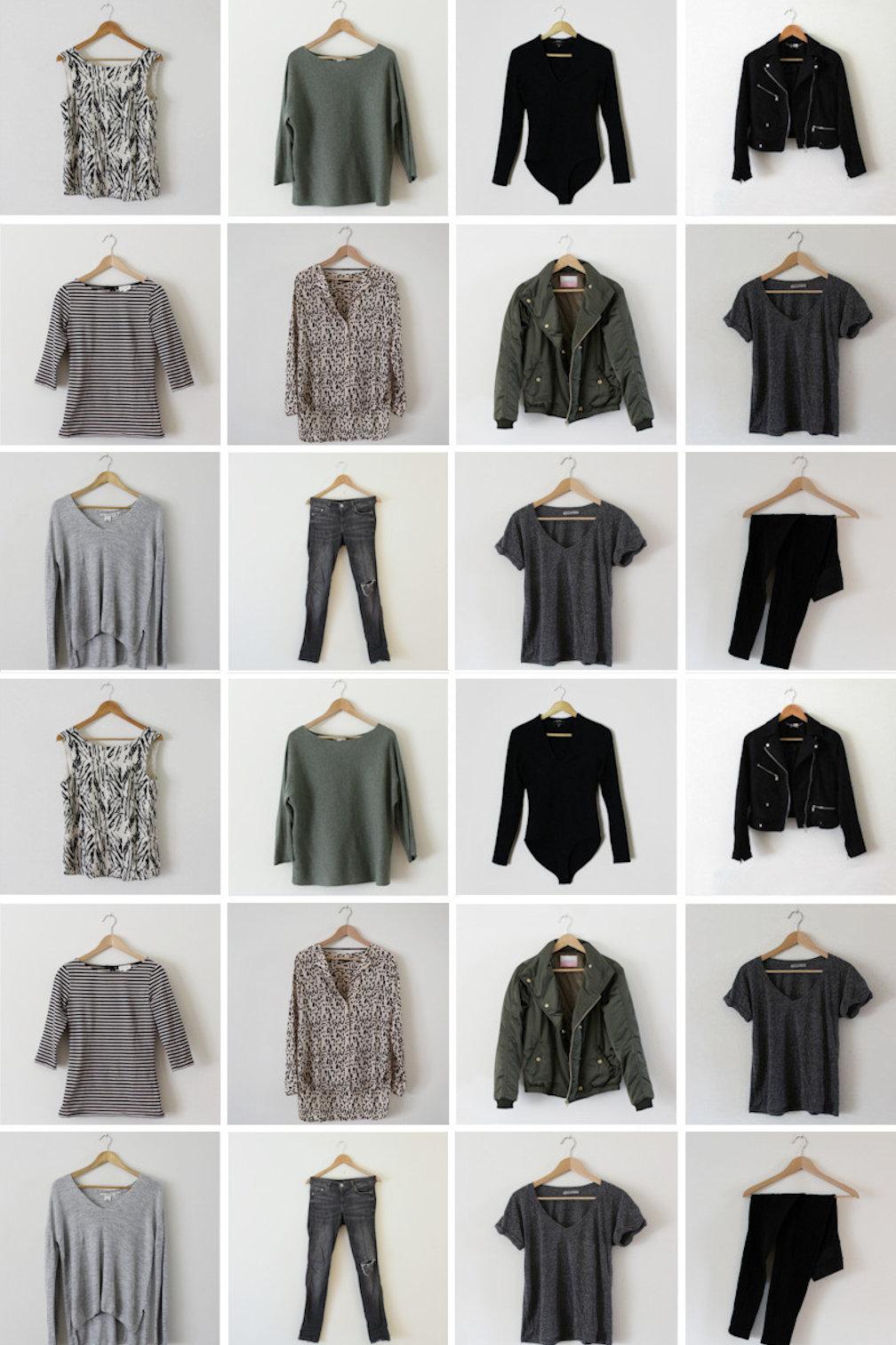 De 5 Basis Items In Mijn Capsule Wardrobe