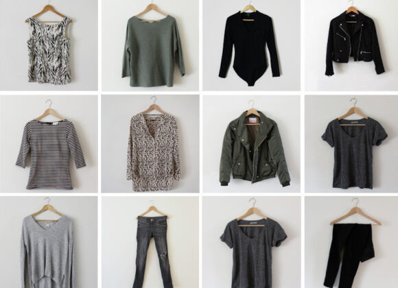 De 5 Basis Items In Mijn Capsule Wardrobe